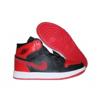Air Jordan Retro 1 High Strap - Black  Varsity Red White