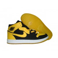 Air Jordan Retro 1 BMP yellow black aka