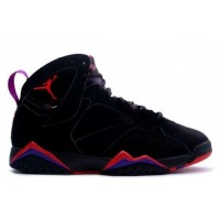 Air Jordan 7 Retro Raptor Black Dark Charcoal True Red