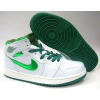 Air Jordan 1 Metallic Do The Right Thing Green White