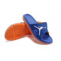 Air Jordan RCVR Slide Select Blue Orange Sandals