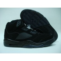 Air Jordan Retro 5 all black