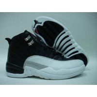 Air Jordan 12 Retro playoff black white
