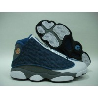 Air Jordan 13 Retro flints french blue university blue flint gre