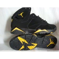 Air Jordan Retro 7 black yellow