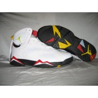Air Jordan Retro 7 Cardinals White Black Cardinal Red Bronze