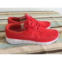 nike janoski red shoes skating shoes
