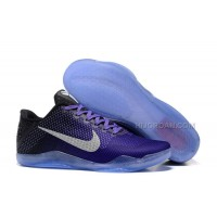 "Nike Kobe 11 ""Purple"" Black Basketball Shoes"